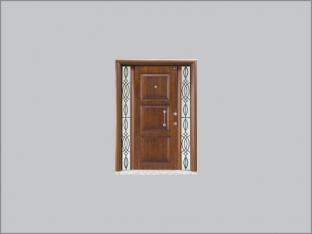 Masif Villa Kapısı VMA-04