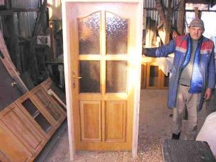 Sıfır Malzemeden Üretilmiş Ahşap Kapı ve Pencereler